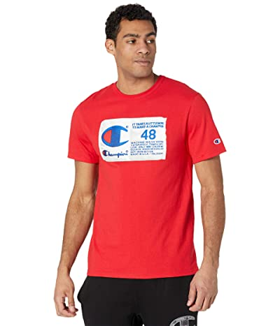 Champion LIFE Heritage Short Sleeve T-Shirt (Team Red Scarlet) Men