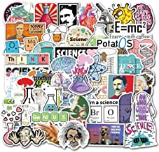 NineGirl Student Science Laboratory Stickers Physics Chemistry Biology Experiment Science..