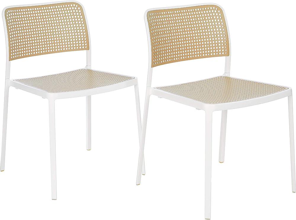 Kartell audrey b sedia senza braccioli in alluminio 5875/B4