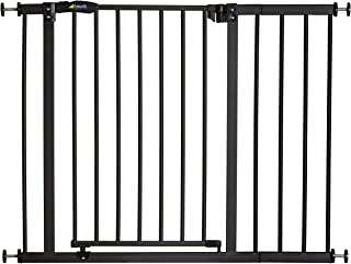 Hauck Close N Stop with 21 cm Extension, 96-101 cm, Safety Gate - Charcoal