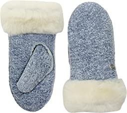 Water Resistant Sheepskin Mitten (Toddler/Little Kids)