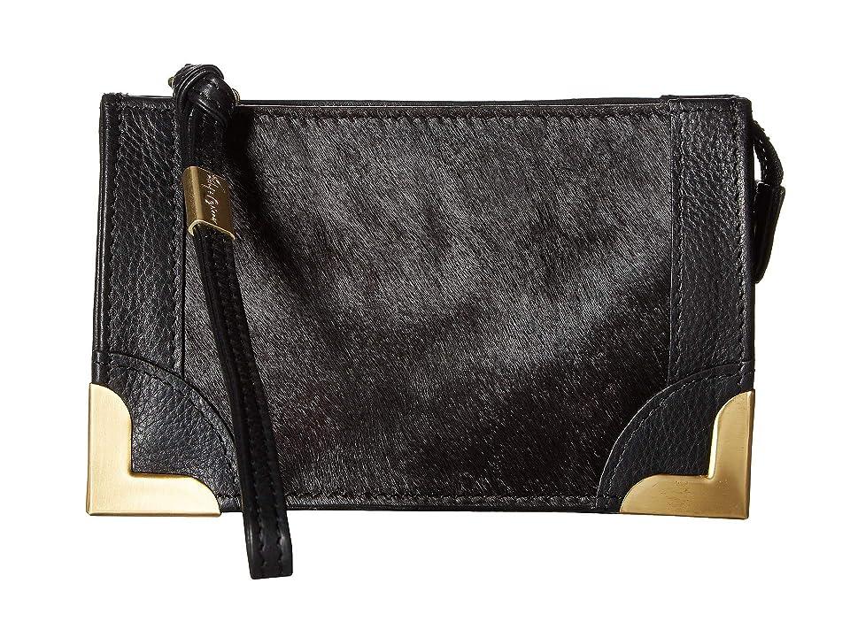 Foley & Corinna Framed Wristlet Pouch (Black) Handbags
