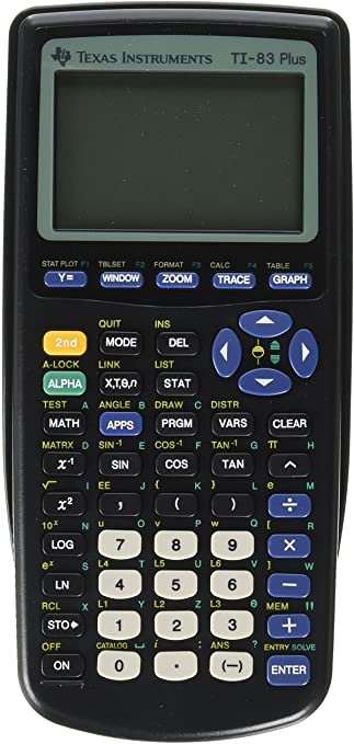 Black for sale online Texas Instruments TI-83 Plus Graphing Calculator