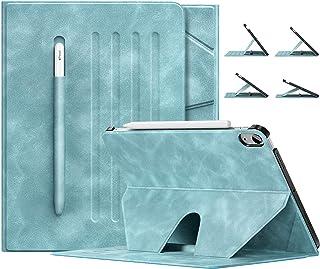 iPad Air 4 ケース 2020 アイパッド エア 4 ケース Dadanism iPad 10.9インチ カバー アイパッド エア 第4代 タブレットケース 4段階のスタンド 磁気吸い付 オートスリープ スマートカバー PUレザー製 耐...