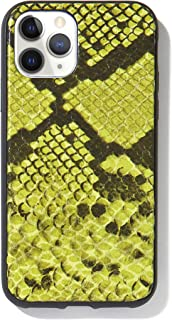 Sonix Green Python Leather Case for iPhone 11 Pro [Military Drop Test Certified] Protective Snakeskin Series for Apple iPhone X, iPhone Xs, iPhone 11 Pro