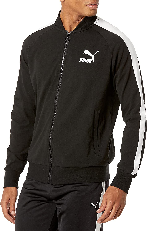 PUMA Men's Iconic T7 Track Jacket at Amazon Men's Clothing store