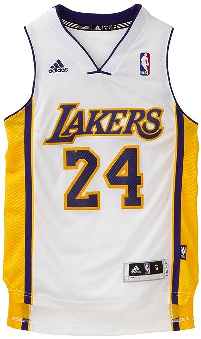 NBA Los Angeles Lakers Kobe Bryant Swingman Jersey, White, XX ...