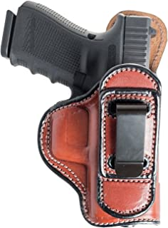 Tuckable (IWB) Leather Holster for Sig Sauer P320 X Carry, Nitron Carry, Nitron Compact, XCompact. Inside The Pants Holster for Tuck in Shirt Conceal Carry.