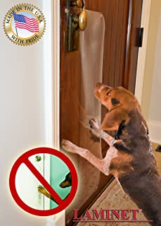 LAMINET The Original Deluxe Pet Scratch Shields - Protect Your Furniture & Walls with Our Deluxe Heavy Duty Flexible Plastic Furniture, Door & Wall Scratch Shields
