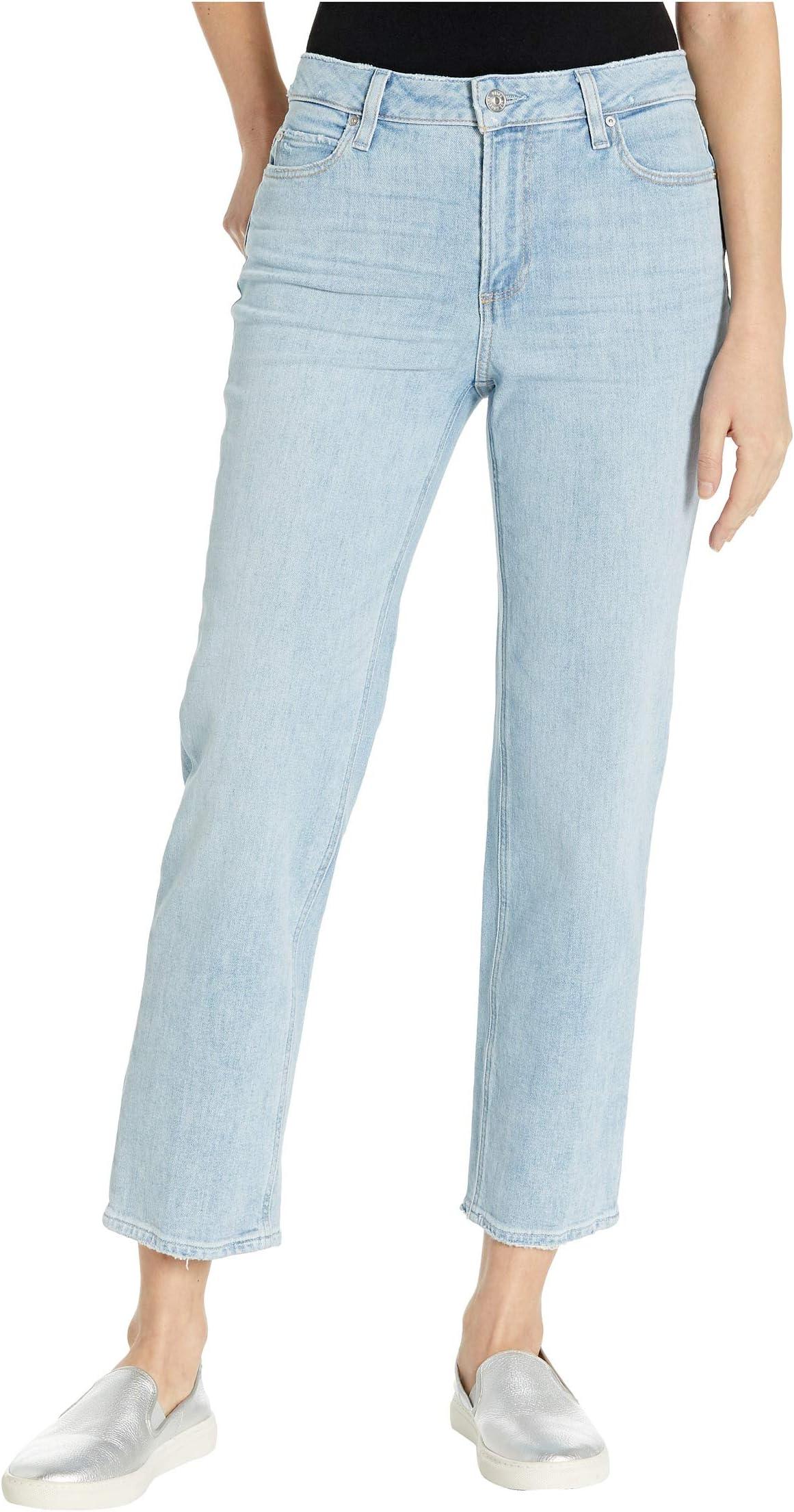 Paige Noella Straight Jeans in Landslide