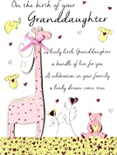 New Baby Granddaughter Congratulations Greeting Card Second Nature Just To Say Cards