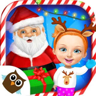Sweet Baby Girl Christmas Fun 2 – Santa's Village & Winter Crafts