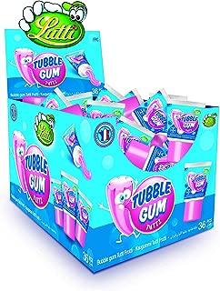 Lutti Tubble Gum Tutti Frutti Gum 36 Pieces