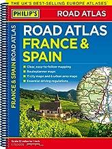 Philip's France and Spain Road Atlas (Philips Road Atlas)