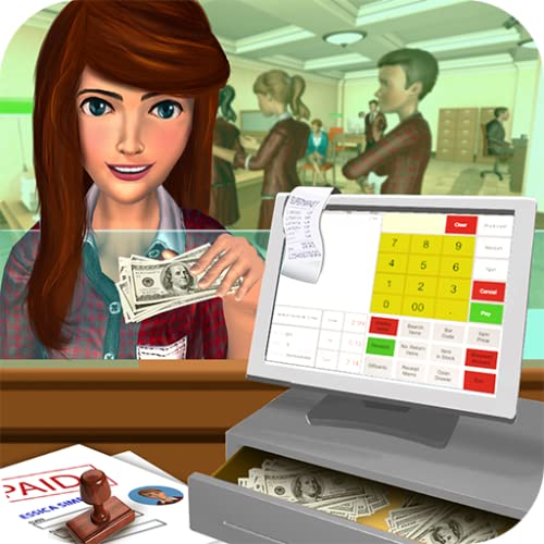 Bank-Manager ATM Cash Simulator Spiel