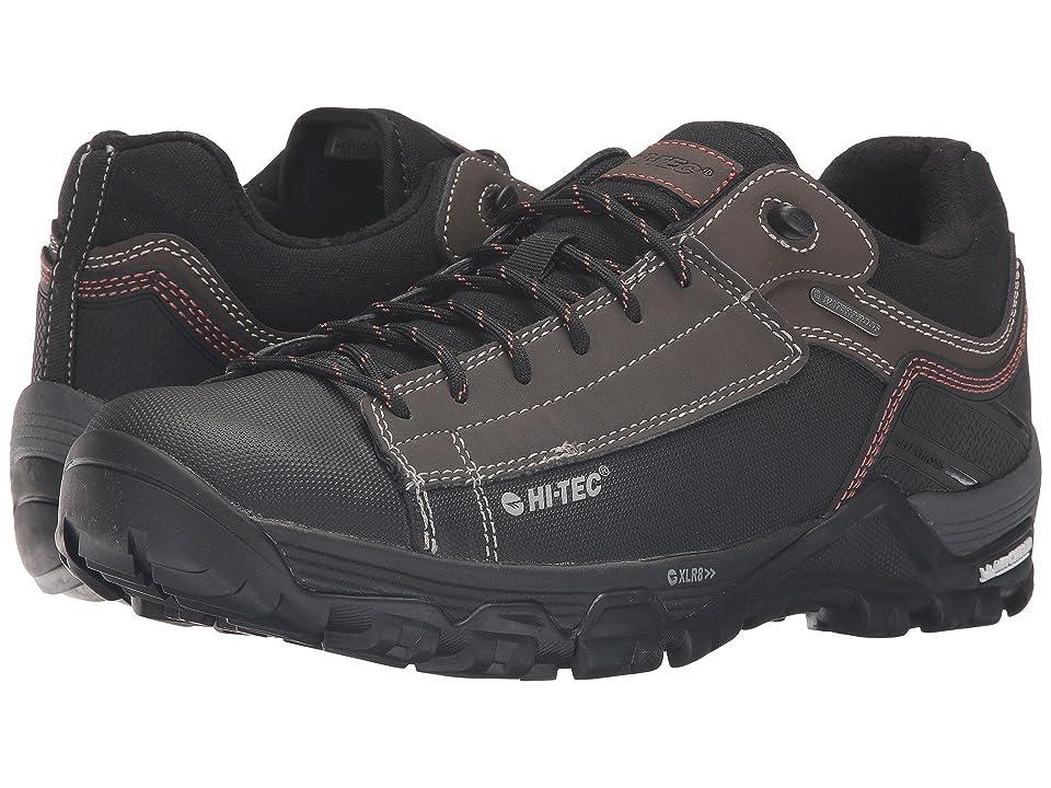 Hi-Tec Trail OX Low I Waterproof (Chocolate/Black/Burnt Orange) Men