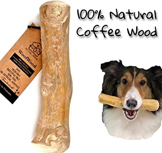 Pet Full House WoofWood Dog chew Sticks, Safe, Natural & Healthy chew Toys, Real Coffee Wood, Long Lasting, Durable chewab...