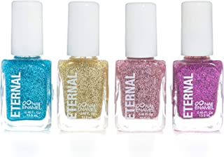 Eternal Glitter 4 Collection - 4 Nail Polish Set: Quick Dry, Long Lasting Sparkly Lacquers (0.46 Fluid Ounces/13.5 Milliliters Each) – All That Glitter