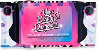 La Fresh Eco-Beauty Waterproof Makeup Remover Wipes – Highly Natural Facial Cleansing Towelettes in Travel-Friendly Resealable Pouch (12 Pack)