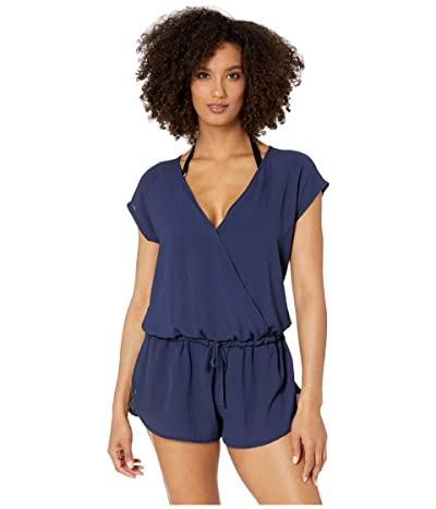 Speedo Romper Cover-Up (Peacoat) Women