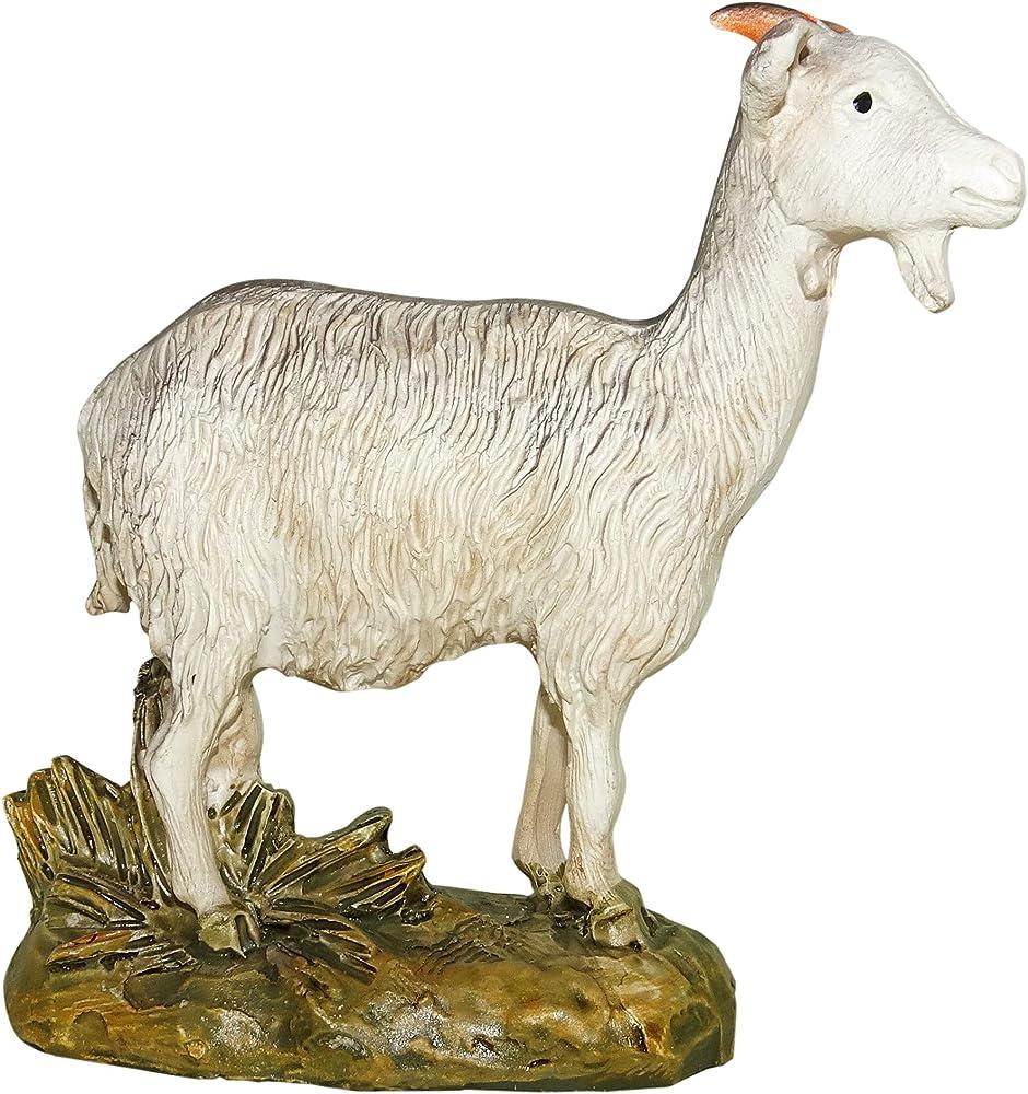 Ferrari & arrighetti statuina del presepe capra - collezione martino landi 12 cm 2412NA13