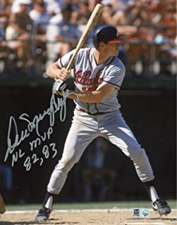 Dale Murphy Atlanta Braves Autographed 8'' x 10'' Gray Jersey Photograph with