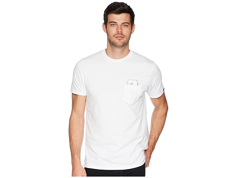 9be9275885 Vans American Pocket T-Shirt (White) Men s T Shirt