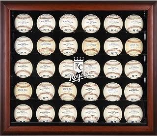 Kansas City Royals Framed 30-Ball Logo Display Case