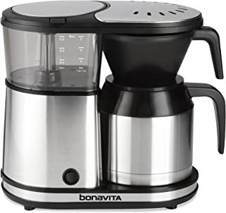 Bonavita 5-Cup One-Touch Thermal Carafe Coffee Brewer, Stainless Steel