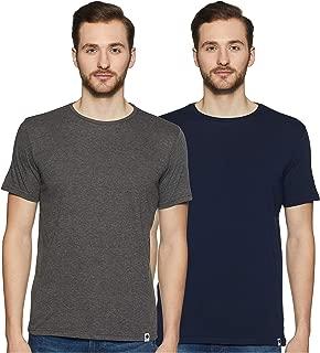 Amazon Brand - Symbol Men's T-Shirt (Combo Pack of 2)