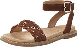 Clarks Women's Corsio Amelia Leather Fashion Sandals