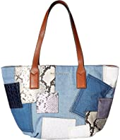 Marc Jacobs - Denim Patchwork Wingman
