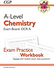 New A-Level Chemistry for 2018: OCR A Year 1 & 2 Exam Practice Workbook - includes Answers