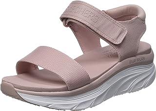 Skechers Women's D'lux Walker New Block Sport Sandal