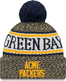 New Era Green Bay Packers 2018 On Field Acme Throwback Youth Knit Hat