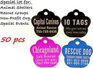 laser etched dog tags