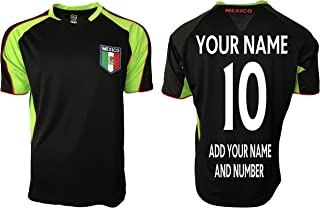 Mexico Soccer Jersey Flag Us Adult Training Custom Name and Number