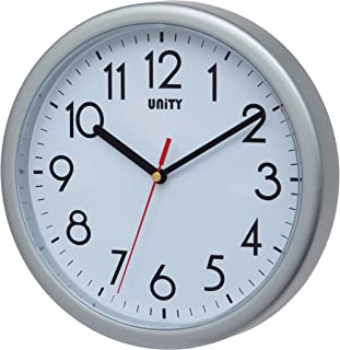 Unity Hastings- Reloj de Pared, silencioso, Moderno, 22 cm,