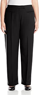 Women's Size Plus Flat Front Easy Stretch Pant