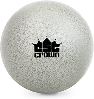 Crown Sporting Goods 4.5kg (9.9lbs) Shot Put, Cast Iron Weight Shot Ball – Great for Outdoor Track & Field Competitions, Practice, Training
