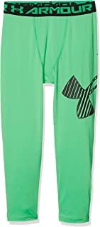 Under Armour HeatGear Leggings 3/4 con logotipo Armour, Niños