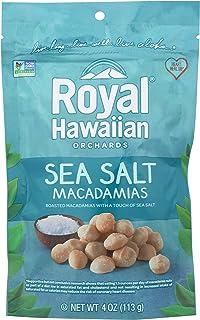 Royal Hawaiian Orchards, Sea Salt, Macadamias, 4 Oz