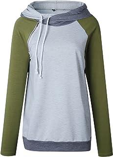 7TECH Spring Zip-Spliced Hoodie Sweater, Green