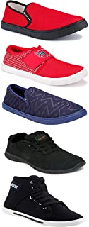 Shoefly Sports Running Shoes/Casual/Sneakers/Loafers Shoes for Men&Boys (Combo-(5)-1219-1221-1140-303-1110)