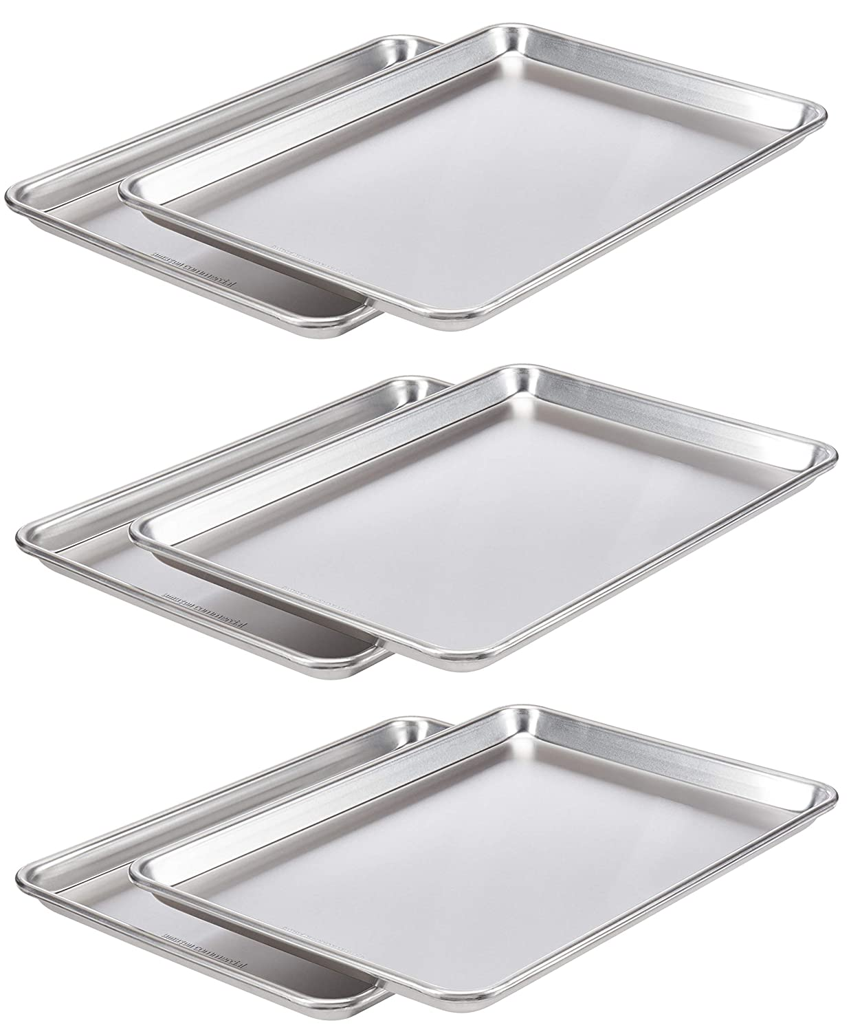 AmazonCommercial Aluminum Baking Sheet Some reservation Pan 2 x 12 1 Special price for a limited time 17.9