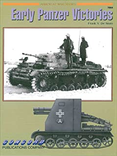 Concord Publications Early Panzer Victories