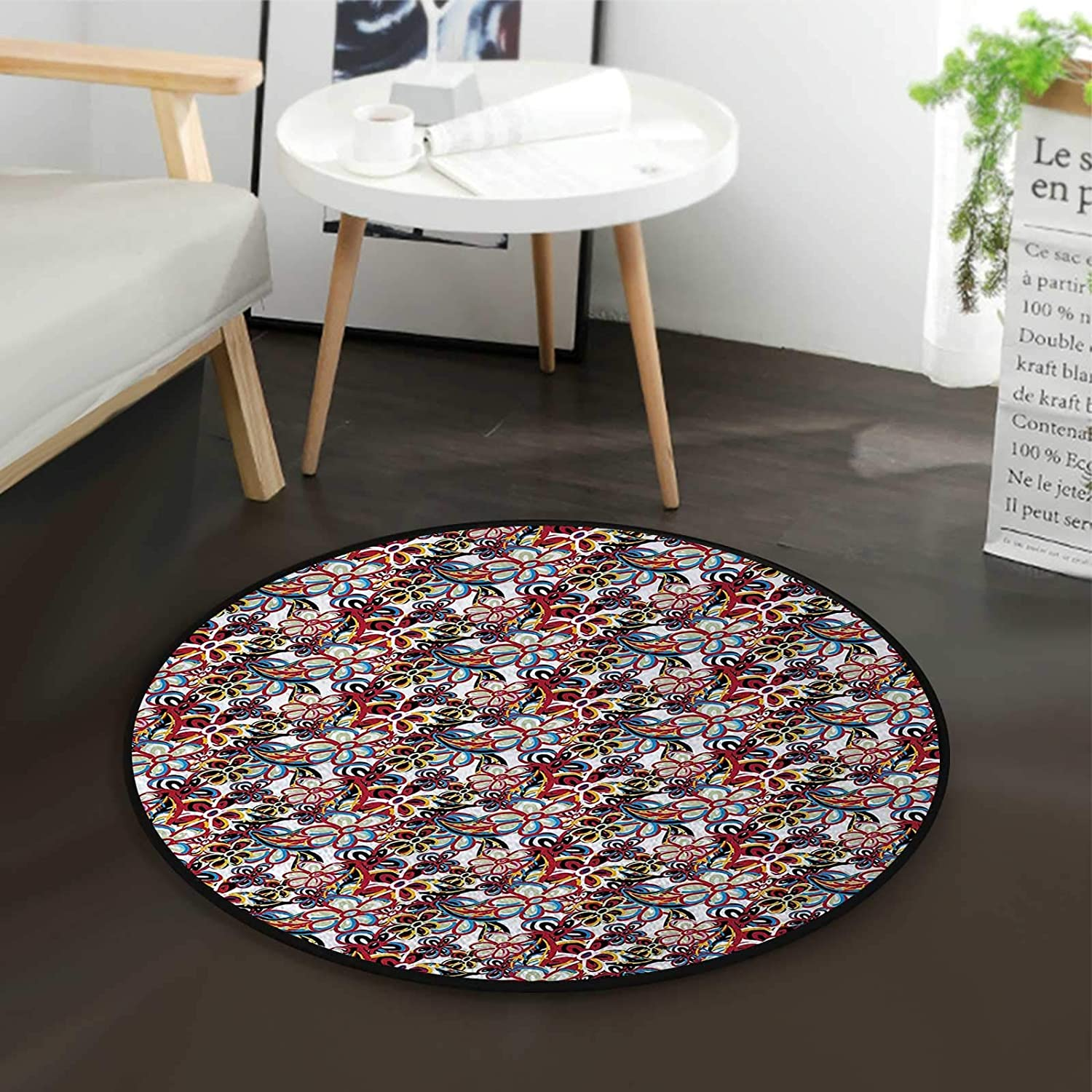 Multicolor Max 47% OFF Coffee Table Rug Colorful Nashville-Davidson Mall Corner Computer Rugs Chair