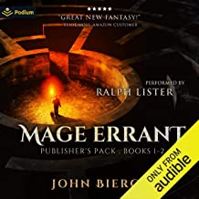Mage Errant: Publisher's Pack: Mage Errant, Book 1-2