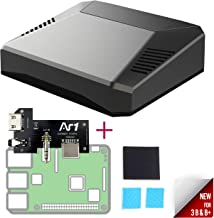 Argon One for Raspberry Pi 3 B+ / B | Mini Computer Case | Aluminum Enclosure | Passive and Active Fan Cooling | Safe Shutdown with Power Button | Supports Retro Gaming, Movies, and Music
