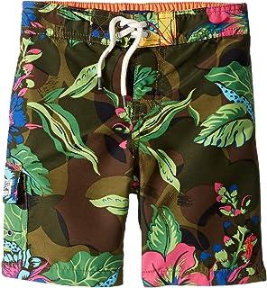 [Polo Ralph Lauren(ポロラルフローレン)] キッズ?水着?ボードショーツ?パンツ Kailua Floral Camo Swim Trunks (Little Kids) [並行輸入品]